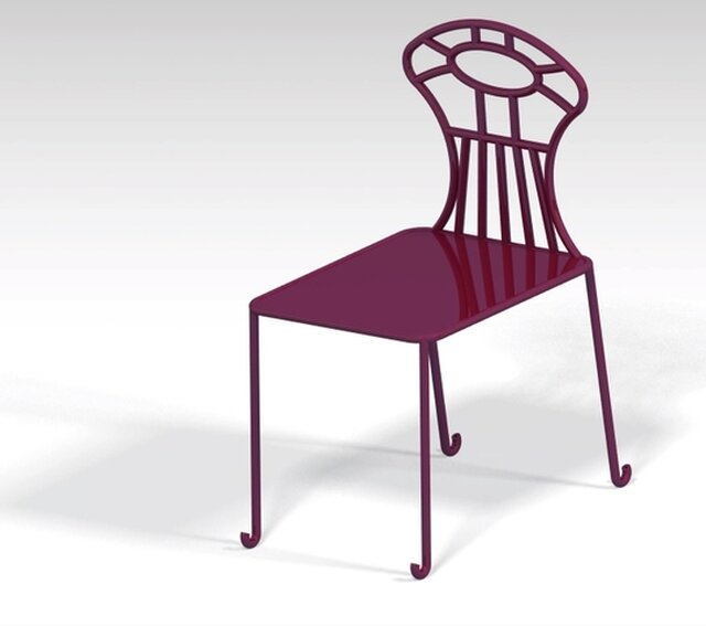 modeling of chair using structure