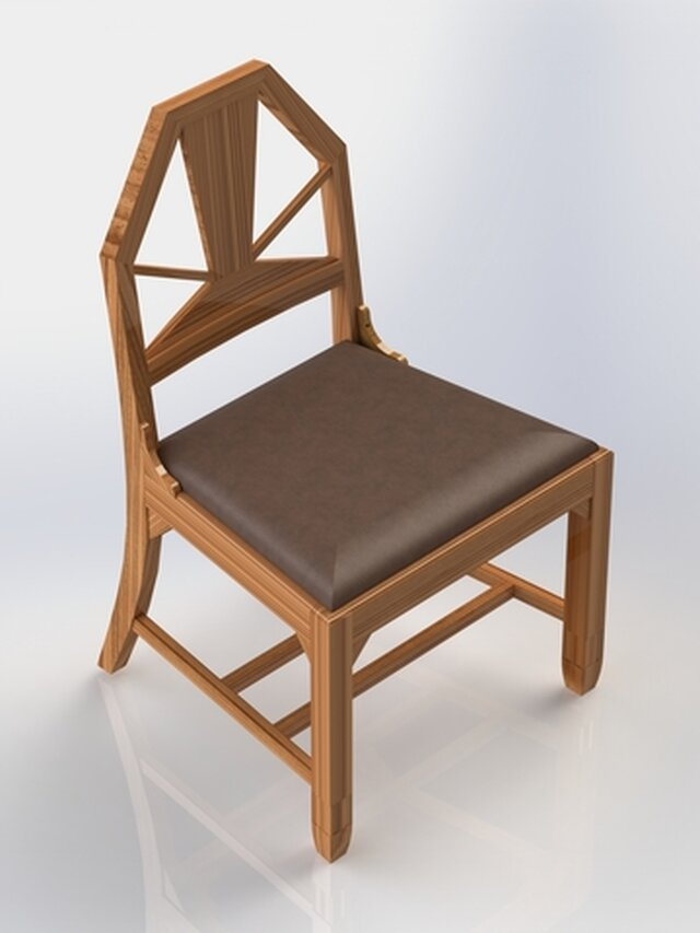 Wooden Chair - Pennsylvania Law Library Restoration Project 2017