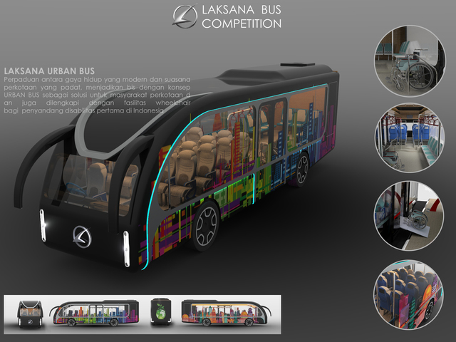 2nd Winner Bus Design Competition