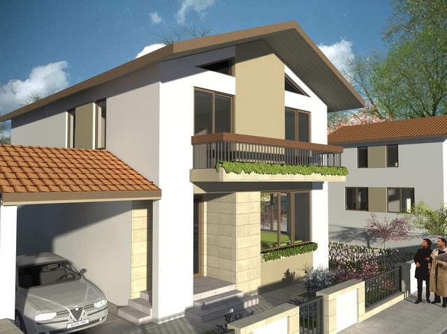 Medium house in Tartasesti