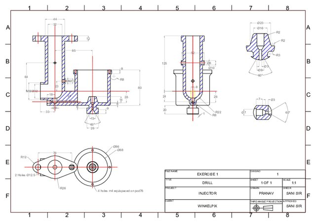 details of carburettor body