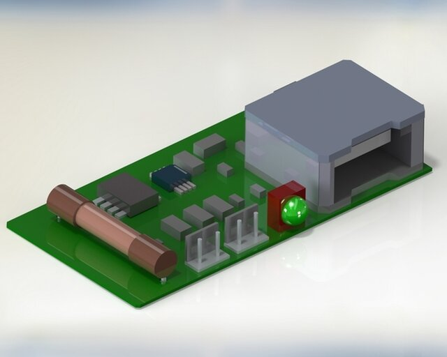 Wind Turbine Charger PCB