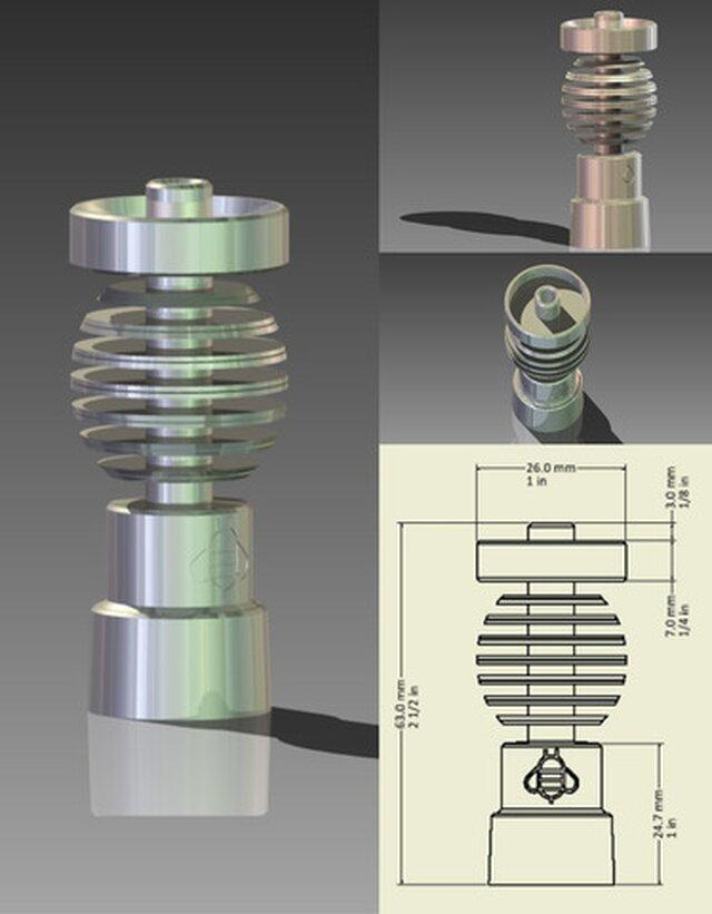 Titanium Nail Design