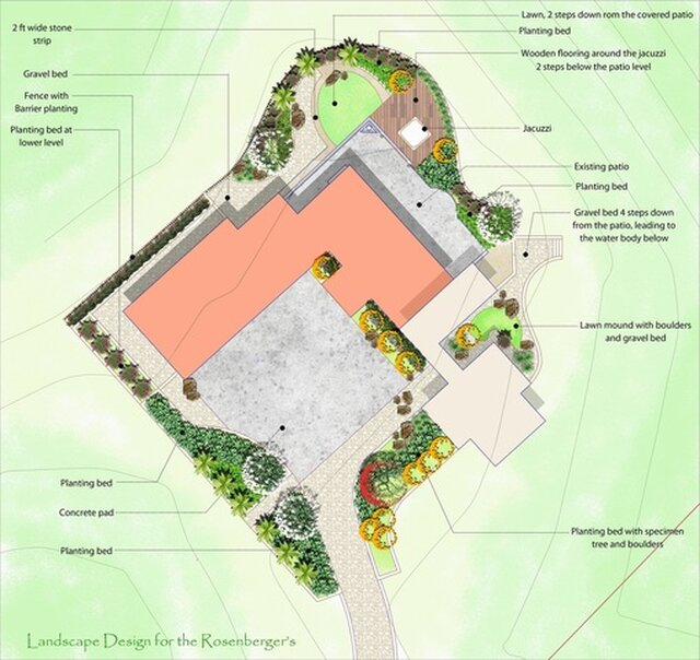 landscape Layout plans for various projects located in USA ...