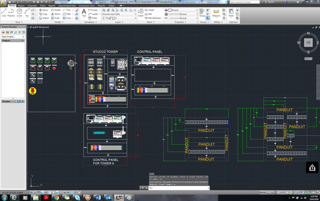 Control Panel Layout and Elec,Schmatic