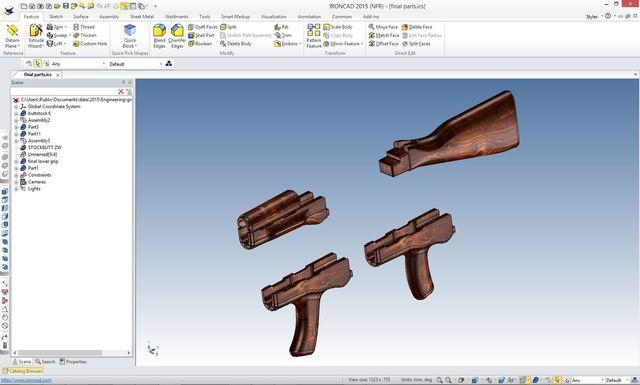 REVERSE ENGINEERING 2016  AK-47 PROJECT