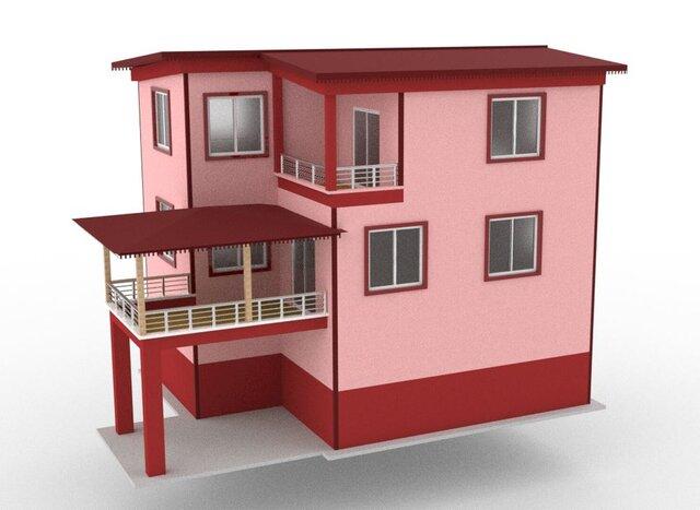 house-model