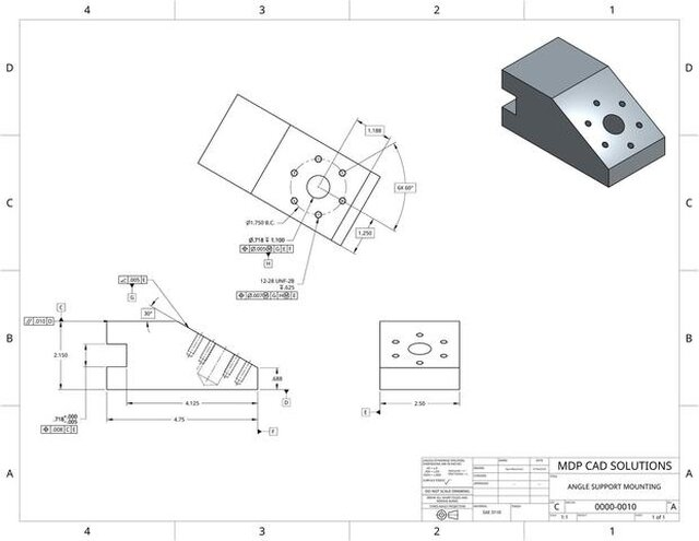 Angle Support Mounting