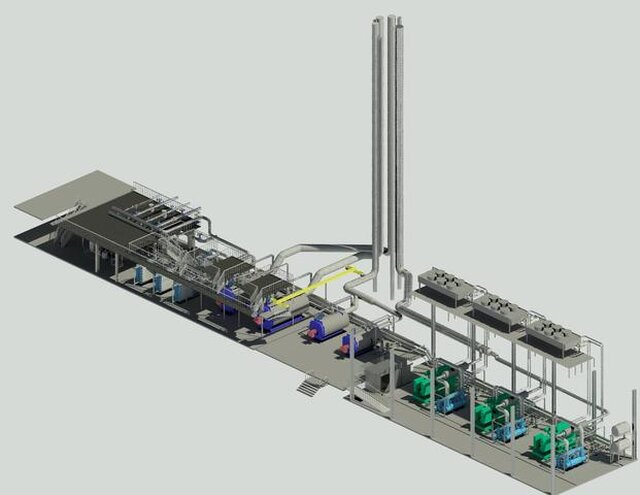 Boiler rooms Power stations Waste Heat Boilers Thermal points Sewage treatment plant Water treatment