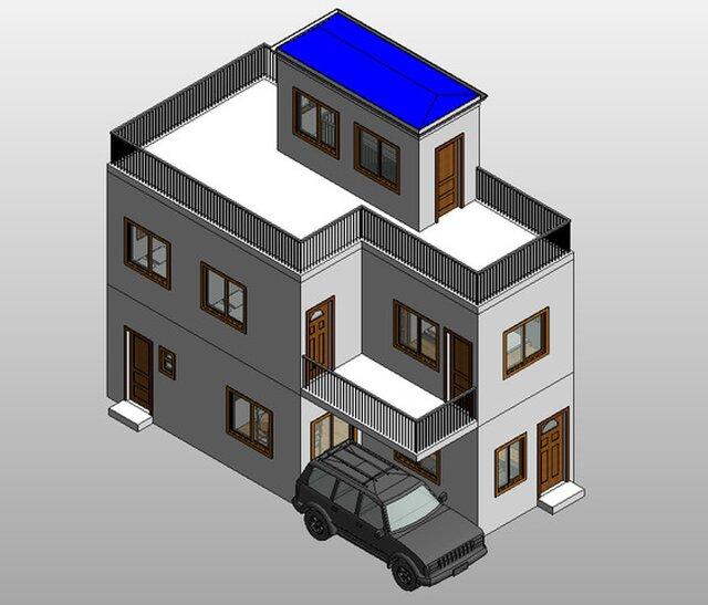 Revit 3D models and plans