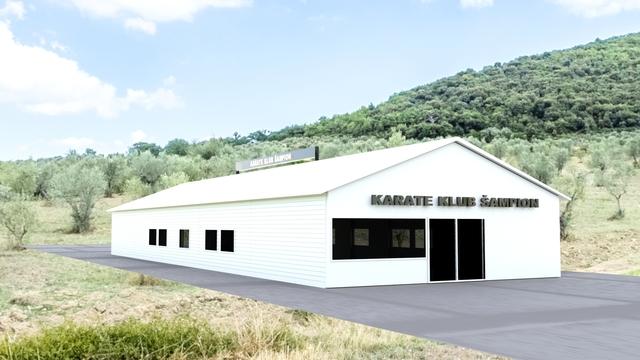 Karate house