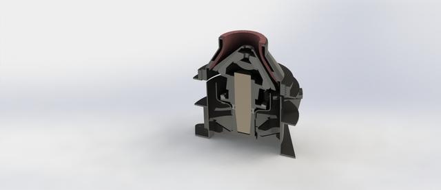 Cone Crusher, Cap 35-50 TPH