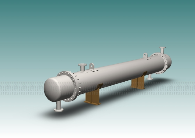 TEMA TYPE SHELL AND TUBE HEAT EXCHANGER