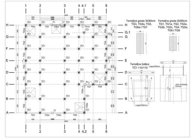 Precast concrete structure design