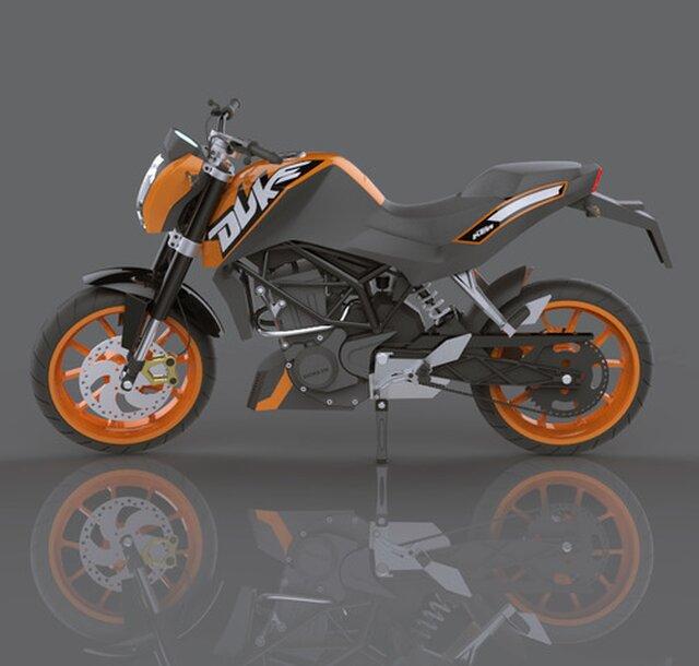 KTM Duke 125 Model