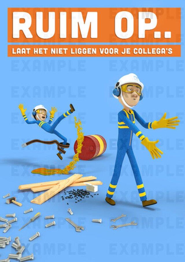 Sarens Safety Cartoons
