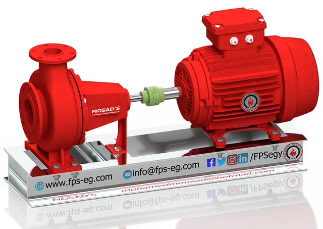 Firefighting Electrical Driven Pump