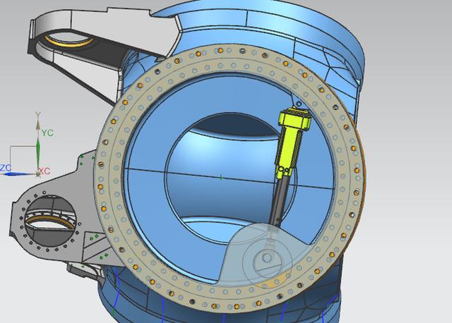 1.5MW WindTurbine Conceptual Pitch Drive system