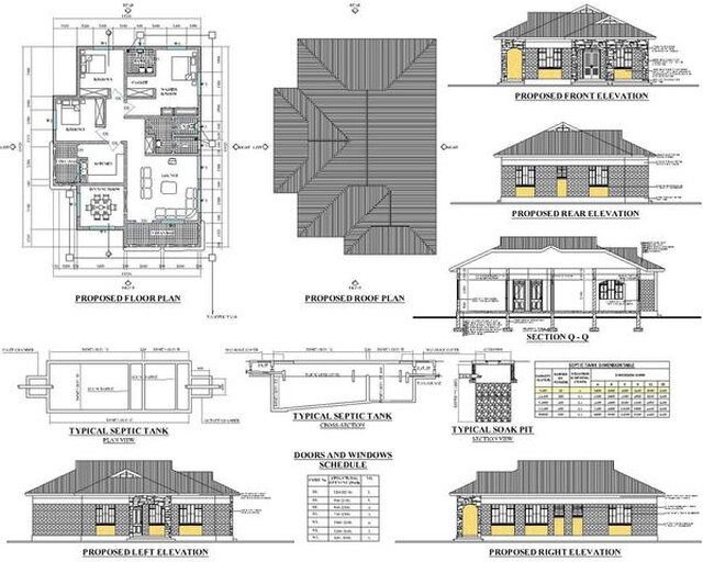 Small house CAD design