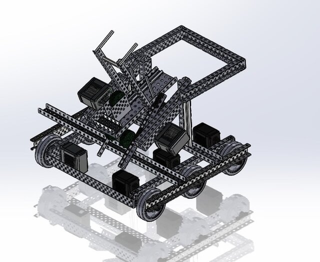 VEX Turning Point Robot for CSUN Matabots