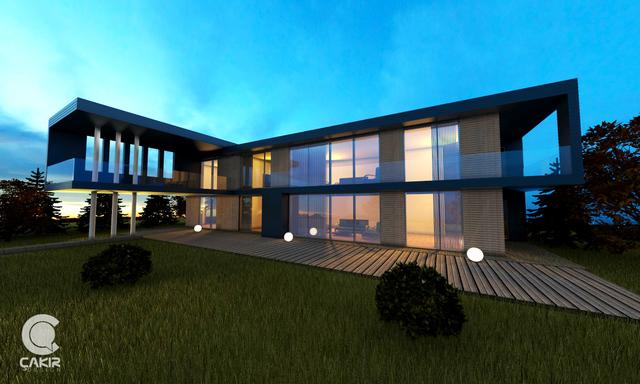 Villa Storingavika - Saunders Architecture