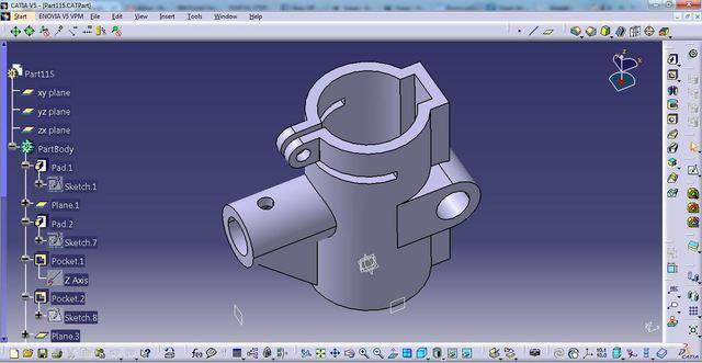 CAD Catia V5 - Part Design 06