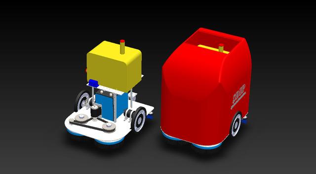 Robot auto laveuse