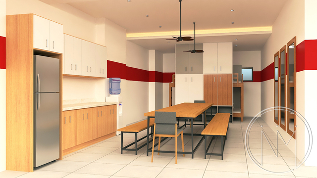 Proposed Athlete's Dormitory