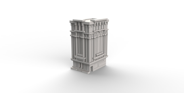 Miniature model of buildings for prototyping