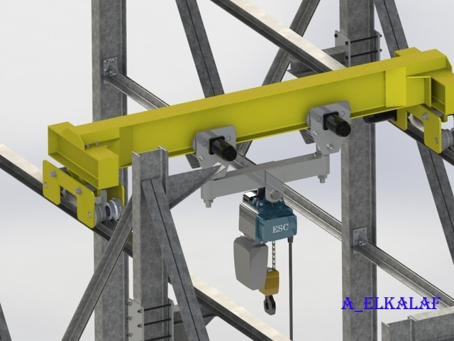industrial heavy crane