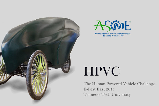 Human Powered vehicle - ASME ZUSS