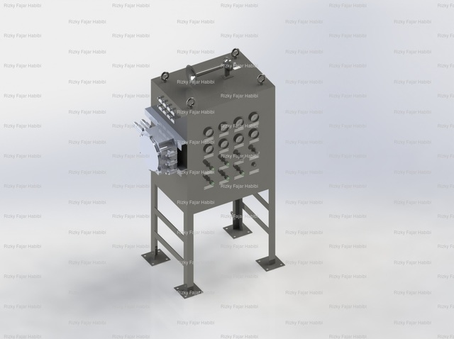 General Arrangement Drawing of Test Separator System