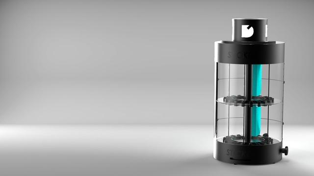 Rotating display for e-liquids