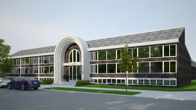 Architectural Design for School in 8th stree philaderlphia