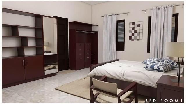 3D  Rendered Bedroom  Design