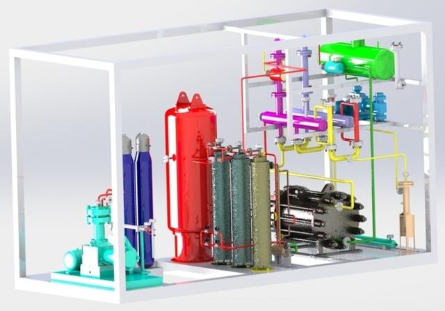 Gas Generation Plant