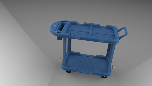 Industrial Cart [Product Design] [Visualization]
