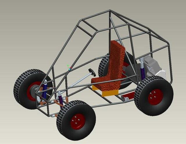 Off road vehical design and manufacture