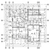 Two floor family house engineering drawings