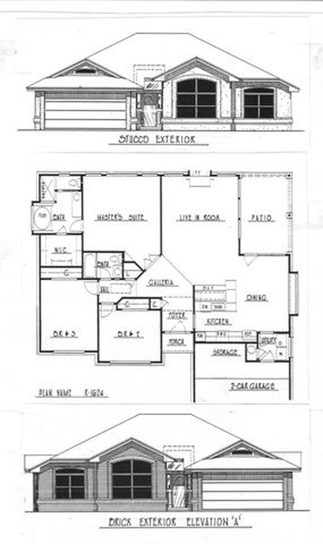 1624 Tract home original