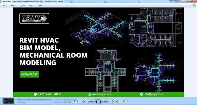 revit-hvac-bim-model-for-mechanical-room