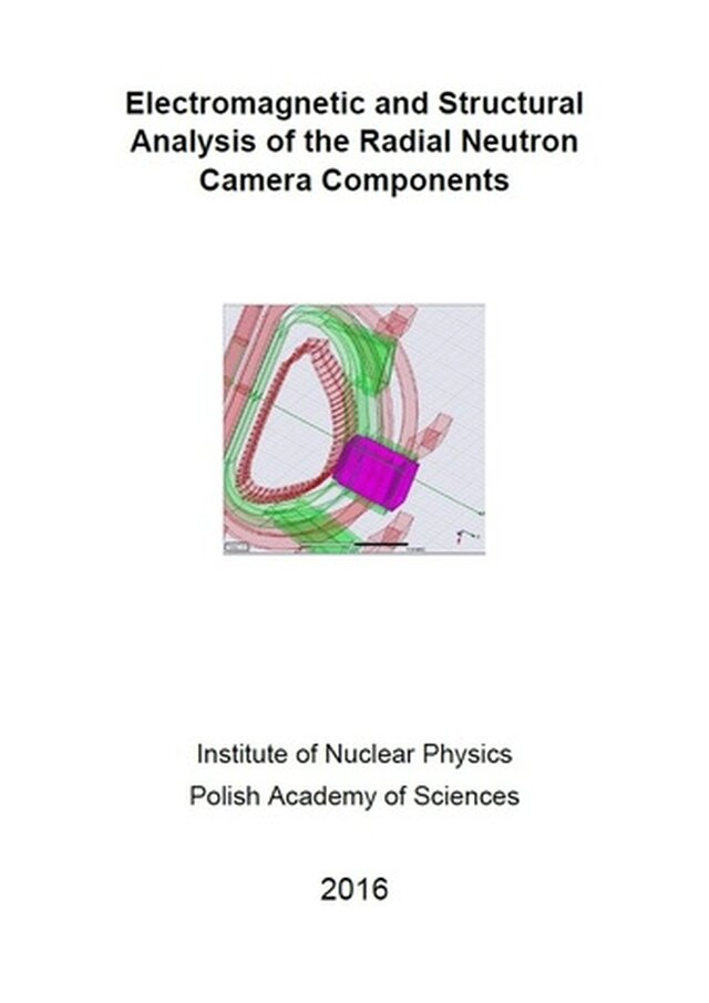 Electromagnetic and Structural Analysis of the Radial Neutron Camera Components