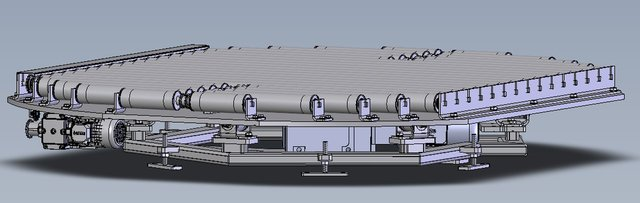 rotating turntable conveyor