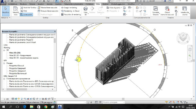 BIM PROJECT WITH STRUCTURAL ANALYSIS BY ROBOT