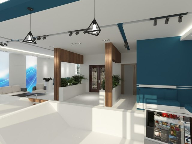 Physiotherapy lobby design