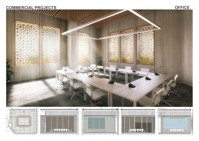 Commercial and Residential Interiors
