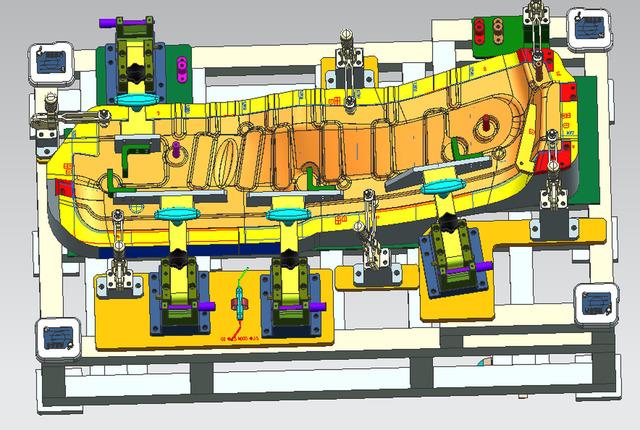 Automobile Parts Inspection tool design