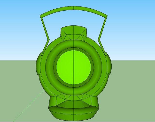 green lantern battery v1