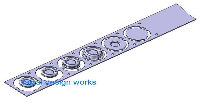 3D Modelling - Progressive DIE Design (Complete Set)