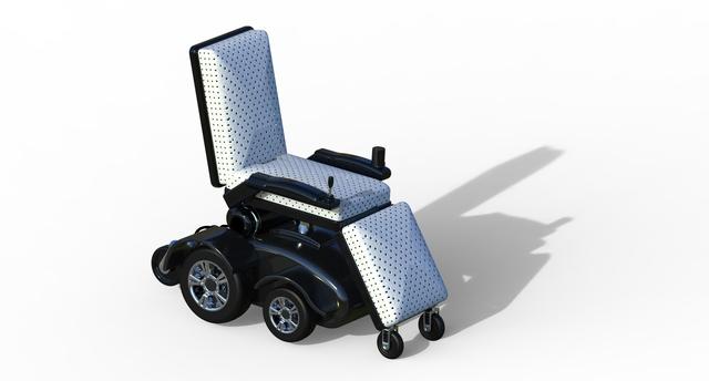 Convertible Electric Wheelchair